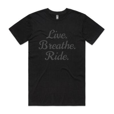 LIVE.BREATHE.RIDE. LOGO T-SHIRT