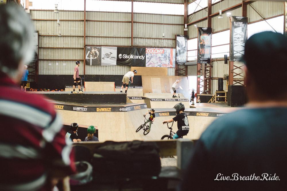Watch your kids at Rampfest Skatepark