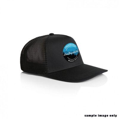 trucker hat with LBR 2020 Logo - Black