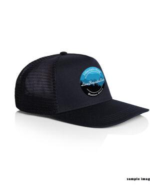 trucker hat with LBR 2020 Logo - Navy