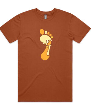 Barefoot Tee - copper