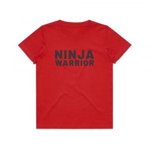 ninja warrior kids t-shirt - ordering ninja t-shirts