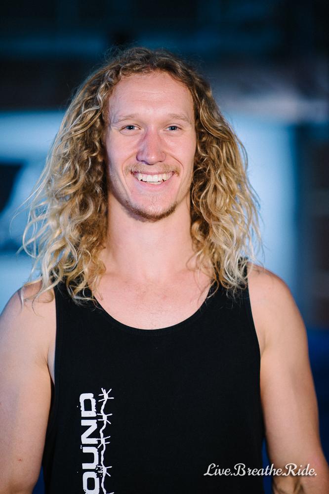 Portrait of Zak Stolz