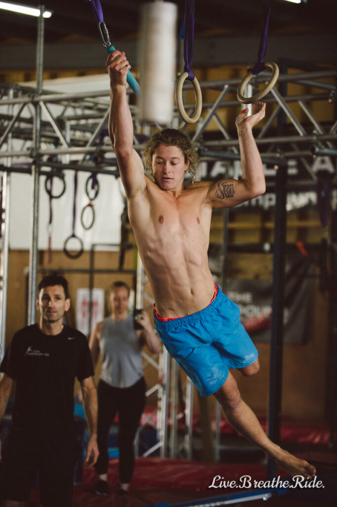 Ashlin Herbert - Ninja Warrior at The Compound Training