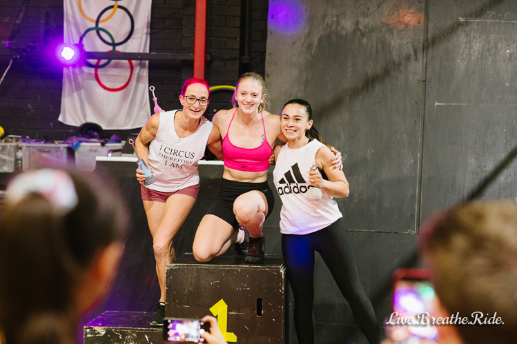 winners at the Melbourne Ninja Warrior competition