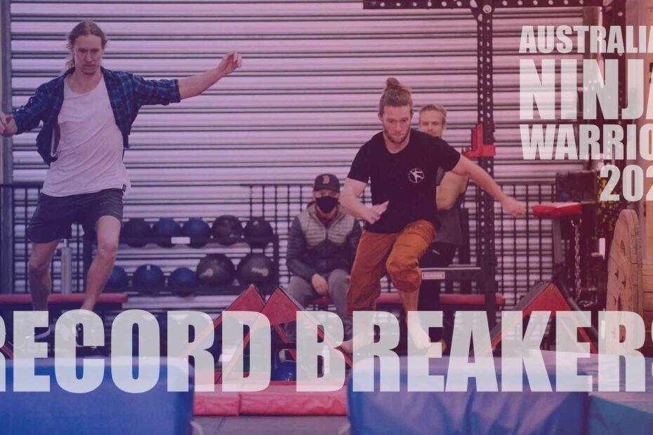 Australian ninja warrior Record Breakers