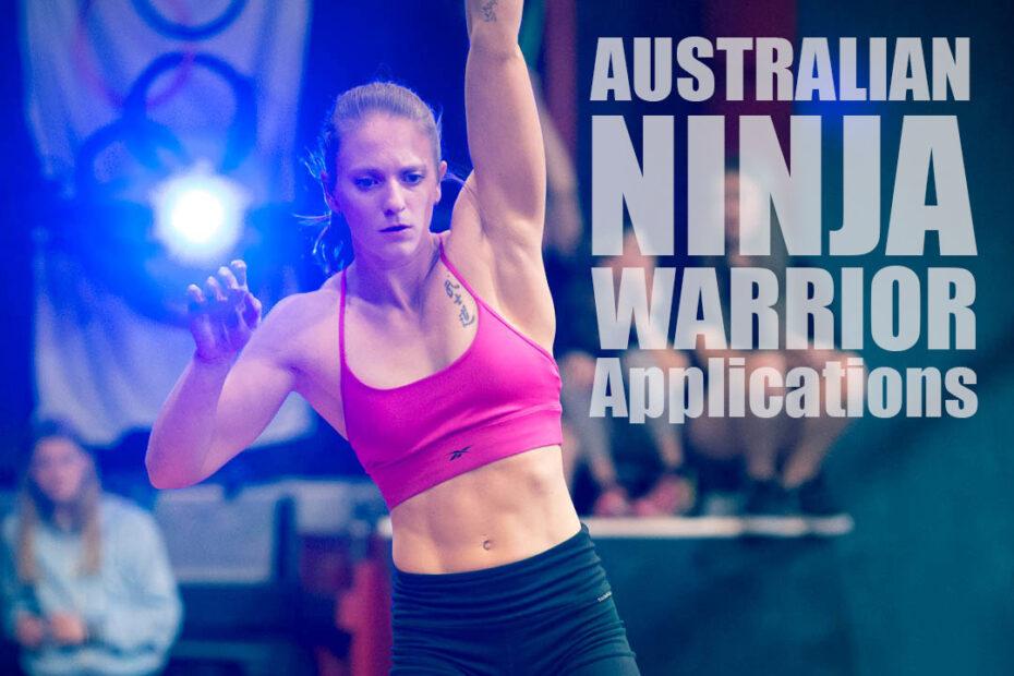 applying for ninja warrior - girl competing in a local ninja warrior comp