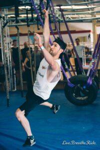 Ninja Nerd - Nathan Burlz in a local ninja warrior competition - melbourne