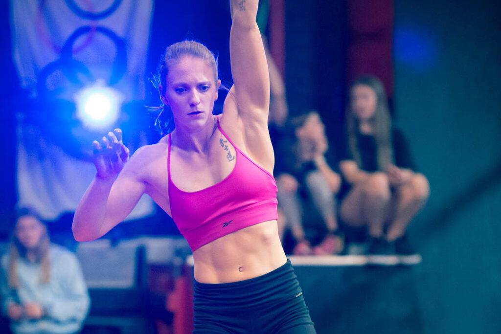 Ninja Warrior Brittany Malloy