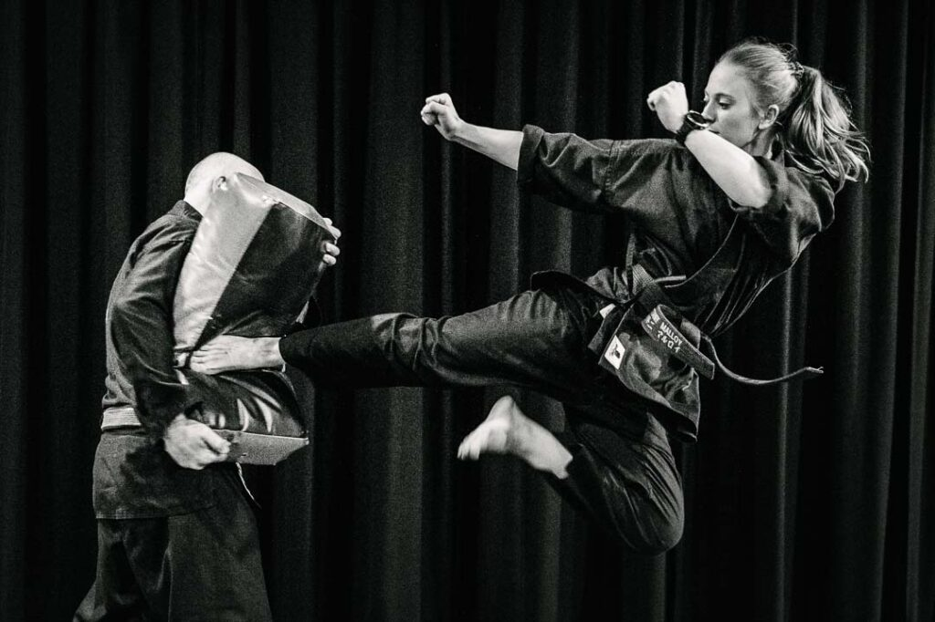 brittany malloy - karate kid