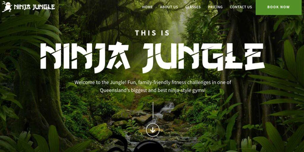 queensland ninja gym - Ninja Jungle