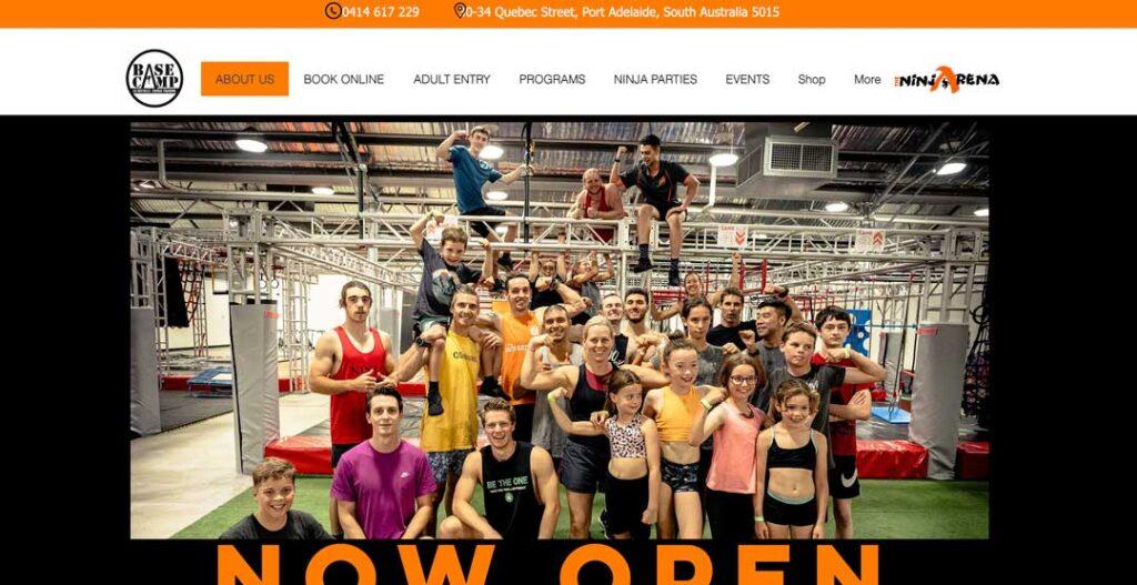 SA BaseCamp - Ninja Gym South Australia