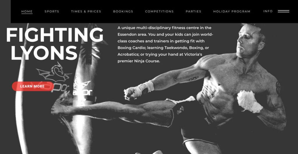 fighting lyons - ninja gym in Essendon, Melbourne