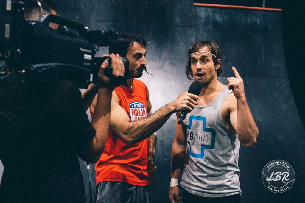 ninja warrior jake murray at the Ninja challenge league finals perth australia